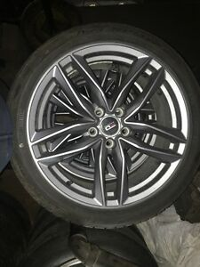 18 inch Audi summer rim and tire package