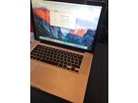 "Apple MacBook Pro Unibody 15"" 8GB RAM 240GB SSD 2.4GHZ CORE 2 DUO LATE 2008"
