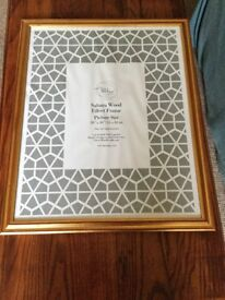 Wooden picture or photo frame