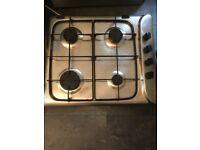4 - Gas Burner Stainless Steel Hob
