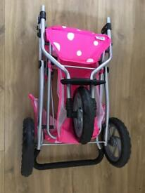 Twin mamas and papas dolls push chair