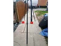 Sea fiahing rod and stand