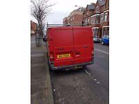 Ford Transit 2005 RED Van