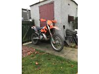 Ktm exc 250 road registered