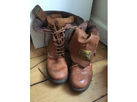Superdry Leather Womens Boots - Size 7 - nearly new.