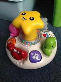 Musical vtech baby spinner toy