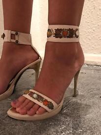 DIBRERA by Paolo Zanoli vintage high heels UK 5.5
