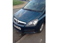 Zafira 1.6 spares or repairs.head gasket gone and run out off mot .