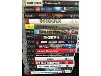 PS3 Bundle. Open to offers so message me.