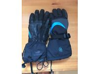Ladies size small ski gloves