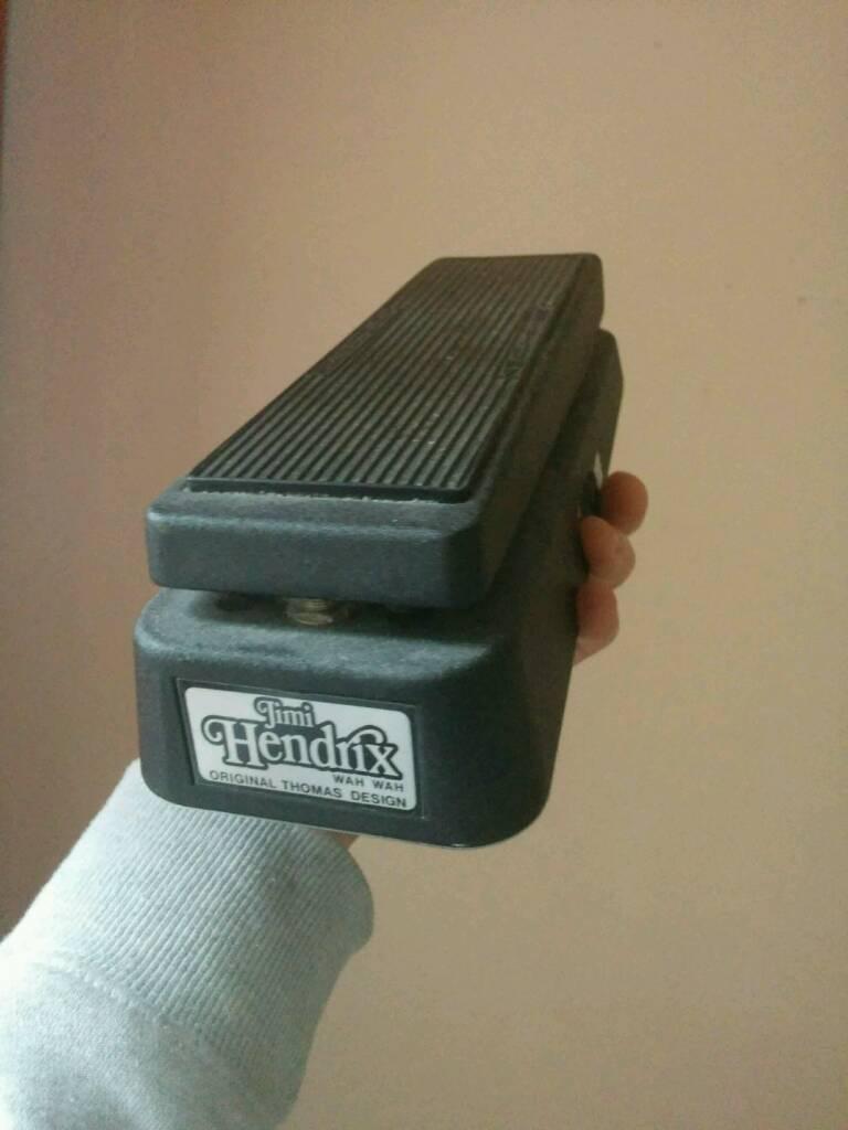 Dunlop JH-1 Wah pedal, Jimi Hendrix sig.
