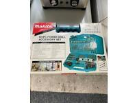 Makita drill accessory set