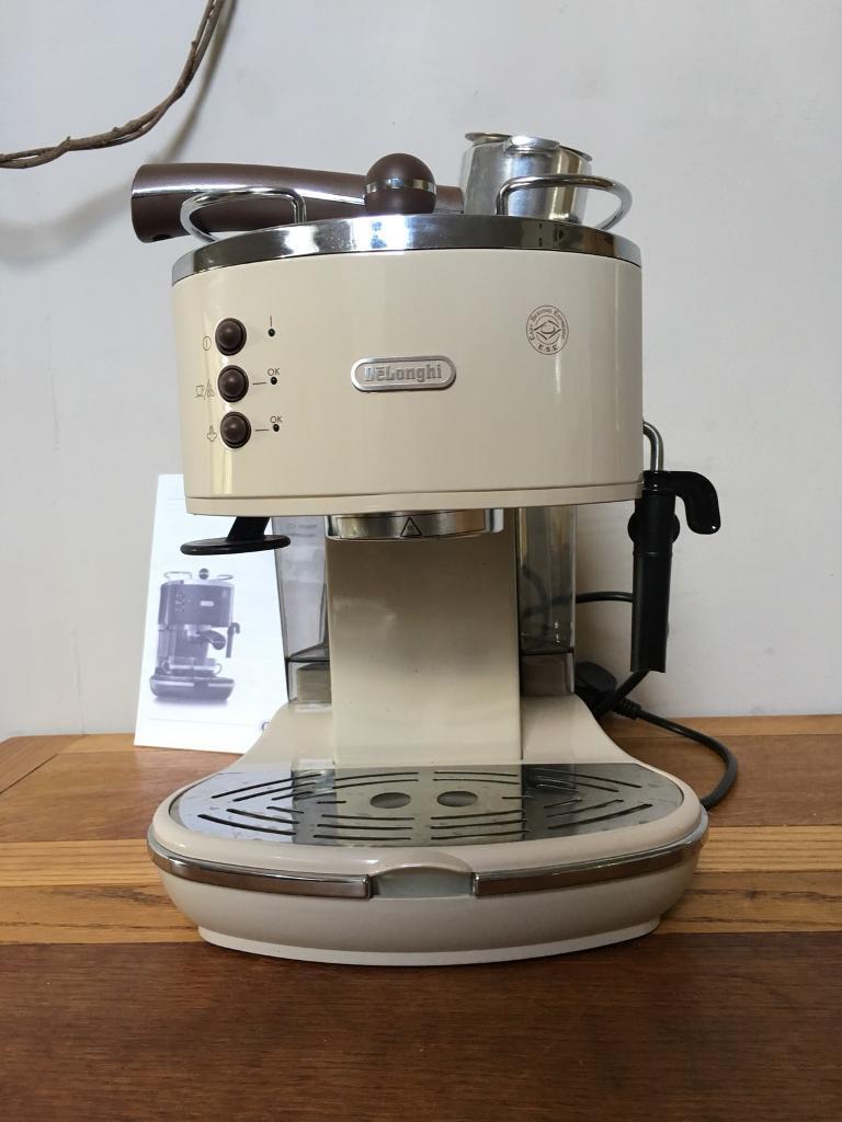 delonghi icona espresso machine instructions