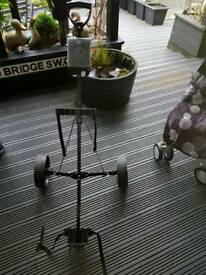 golf trolley table and 4 chairs
