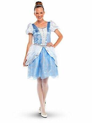 New Women Disney Store Princess Cinderella Dress Costume Halloween Size S M L XL - Womens Cinderella Dress
