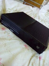 Xbox one 500gb and games