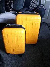 New boxed medium and cabin luggage
