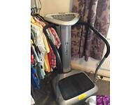 Large full size vibration plate machine for sale