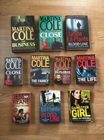 Martina Cole collection and more