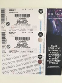 Katy Perry Tickets Manchester