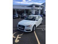 White Audi A3 Sport 1.6 TDI - 1 year MOT