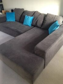 Corner Sofa bed - very easy and comfortable.