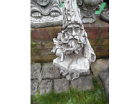 Wizard concrete stone garden ornament