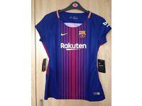 Women's Barcelona Home Shirt 17/18