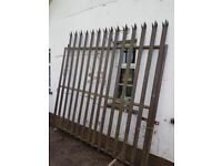 Large security gate