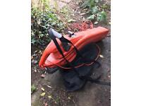leaf blower and vacum