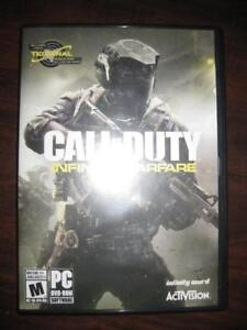 Call of Duty. Infinite Warfare. Standard Edition. For Game System PC / Computer / Desktop / Laptop / Notebook. Windows