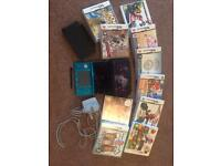 Nintendo 3DS + case + 10 games