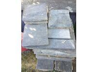 Assorted patio tiles
