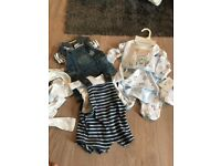 Job lot of baby boy clothes new baby -0-3
