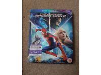 The amazing Spider-Man 2 blu-ray.
