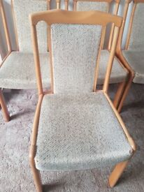 Urgent!! 6 CHAIRS £10...COLLECTION ONLY (ROMFORD)