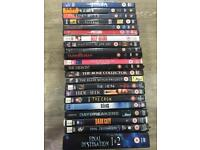 Over 180 DVDs (more than in photos)