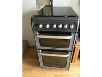 Hotpoint Gas Cooker ONLY 9 MONTHS OLD. Double oven, grill bought new for £495