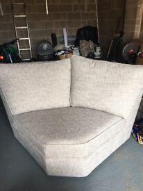 Next Corner section of sofa Grey