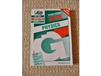 Letts Study Guide GCSE Physics Text Book 1997 Waves Electricity Force Gases etc Revision