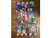 Star Wars Attack of the Clones and Episode 1 Dark Horse comics