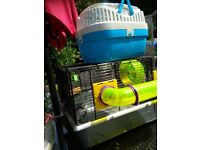 Hamster cage and carrier