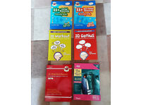 11+ six study books and practice papers