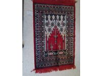 Turkish prayer mat or carpet