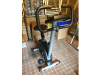 Heartrate control magnetic exercise cycle York cardiofit 3350