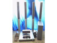 PANASONIC SA-HT900 THEATRE SYSTEM + 5 DISC DVD PLAYER ALL IN FULL WORKING ORDER