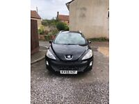 Peugeot 308 sport 2.0 h.d.i 6 speed 7 seater with panoramic glass roof years mot
