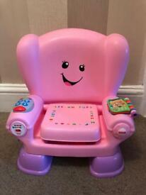 Fisher Price Laugh & Learn activity chair