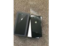 iPhone 8 Plus space grey 64GB boxed brand new opened