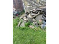 Big pile of British stone